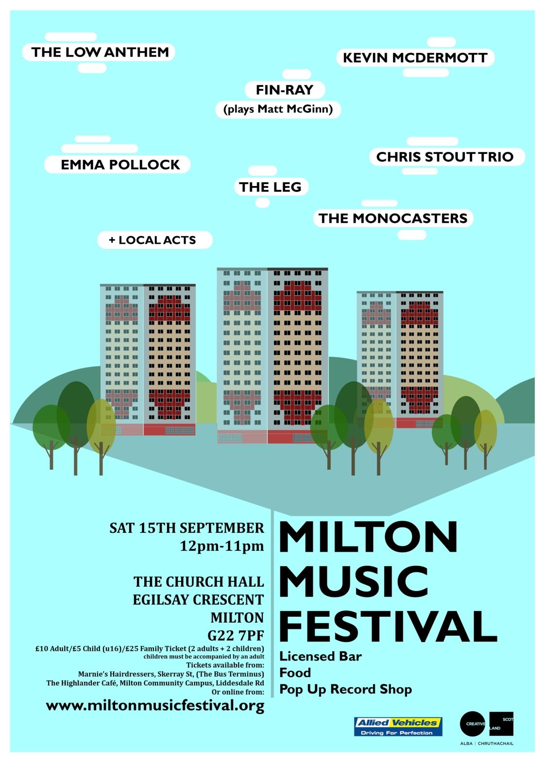milton fest poster